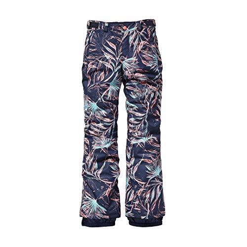 O'Neill Mädchen Kinder Snowboard Hose Charm Slim Pants Girls, Blue AOP w/pink-Purple, 176