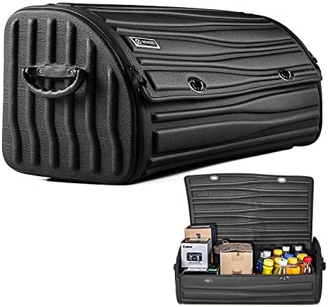 EBESTauto Car Trunk Organizer Collapsible Trunk Storage Organizer Bag with Multi Compartments product image