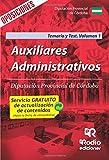 Auxiliares Administrativos. Diputación Provincial de Córdoba. Temario y Test. Volumen 1