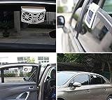 AutoTrends New Car Fan Solar Window Sun Powered Car Auto Air Vent Cool