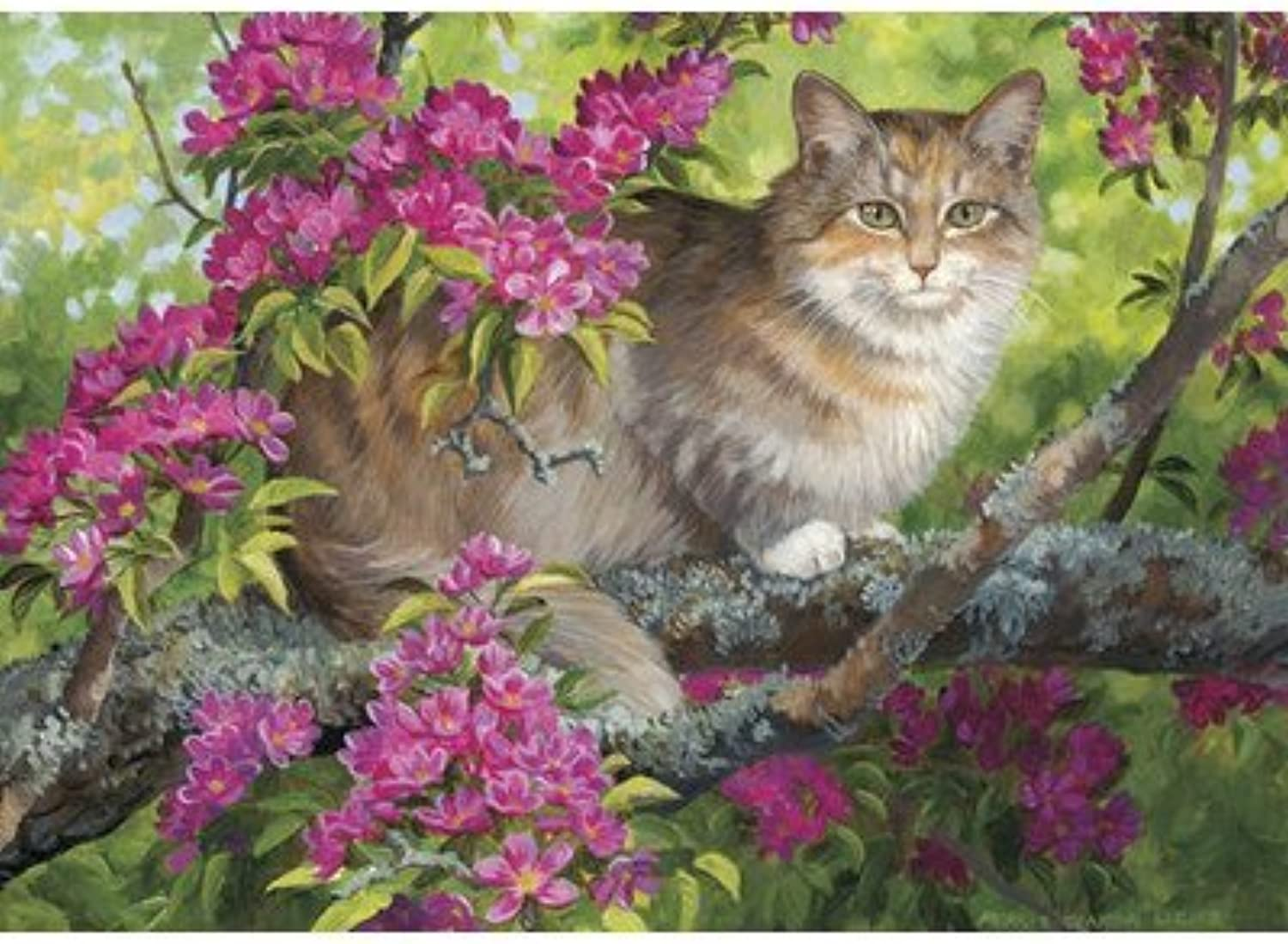 Crab Tree Calico Puzzle by Willow Creek Press