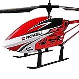AORED 3.5 canaux alliage mini hélicoptère télécommande for enfants adultes micro RC hélicoptère jouet débutants cadeau d'anniversaire cadeau extérieur RC hélicoptère télécommande hélicoptère intérieur