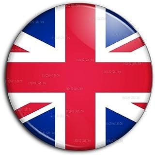 Badge 25mm Bouton Epinglette Drapeau Royaume-Uni Union Jack Flag Angleterre Anglais