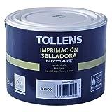 Tollens 8102 Imprimación Selladora al Agua, Blanco, 375 ml