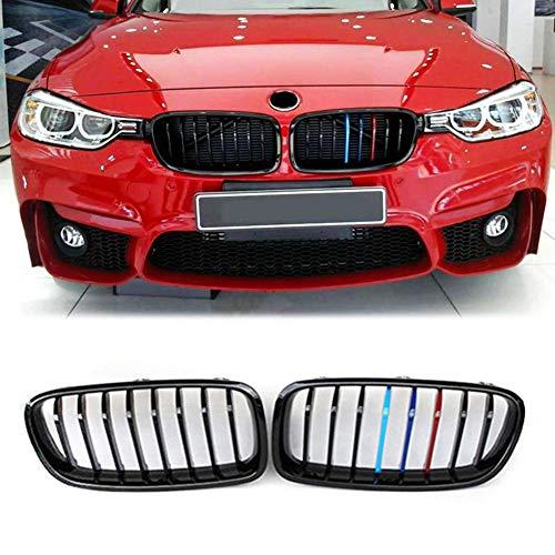 Auto Parrilla del Radiador del Coche para BMW Touring F30 F31 Limusina Y 328I 335I 316D 318D 2012-2018 Plástico ABS De Color Negro Brillante M