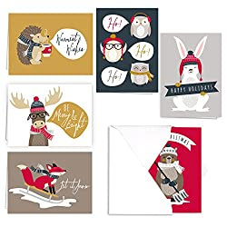 winter bucket list: holiday cards