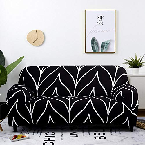 Cubre Sofa Universal Tejido de Poliéster,Estirar la tela escocesa de la cubierta del sofá Fundas de sofá para la sala de estar Silla Sofá Cover-21_90-140cm_China,elástico elástico extraíble Cubierta