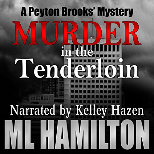 Murder in the Tenderloin audiobook cover art