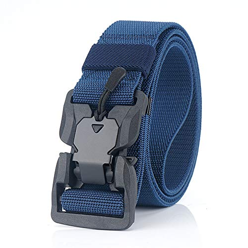 JIER Liquidación Cinturón de Nylon, cinturón Unisex, con Hebilla metálica de...