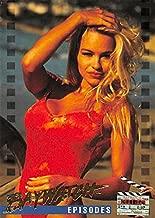 Pamela Anderson trading card Baywatch 1995 #71 C.J. Parker photoshoot