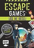 Escape Games Level 2 (grün) – Löse die Rätsel! – 10 Escape Games ab...