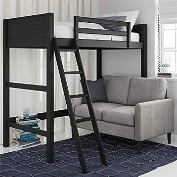 Dorel Living Moon Bay Loft Black bunk bed