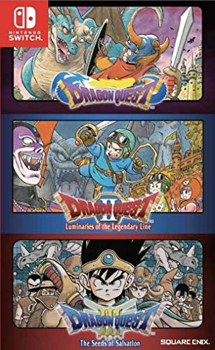 Dragon Quest 1+2+3 Collection - Nintendo Switch [Region Free]