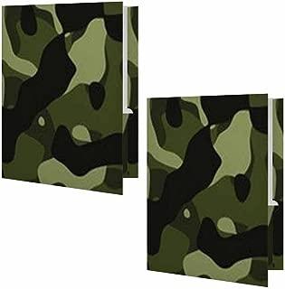 Camouflage Presentation File Folder - Set of Two