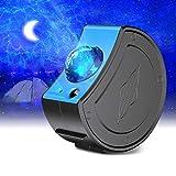 Zenoplige Proyector LED de cielo estrellado con luz de proyección USB 3 en 1, estrella, luna, océano, con mando a distancia, para regalos, hogar, fiesta, decoración