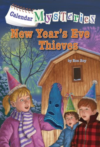 Calendar Mysteries #13: New Year's Eve Thieves (English Edition)
