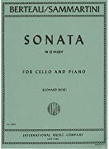 Best berteau cello sonata in g major Reviews