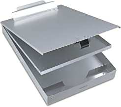 Metal Clipboard with Storage Box, Aluminum Clipboards with Metal Binder Snapak Form..