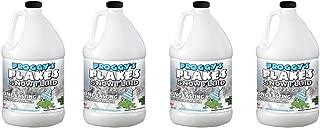 Froggys Flakes - 4 Gal - Long Lasting Snow Machine Fluid - Blizzard Formula