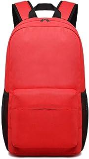 PANFU-AU Student Bag Fashion Trendbackpack Travel Laptop Backpack Business Backpack School Bag Travel Laptop Backpack Leisure Sports Backpack (Color : Red)