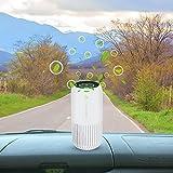 KANINO Mini Purificador de Aire con Rayos Ultravioleta, Purificador de Aire con Filtro HEPA...