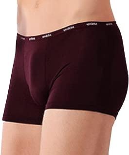 Bigood Men's Summer Breathable Underwear Plus Size Cotton Boxer Briefs Trunks