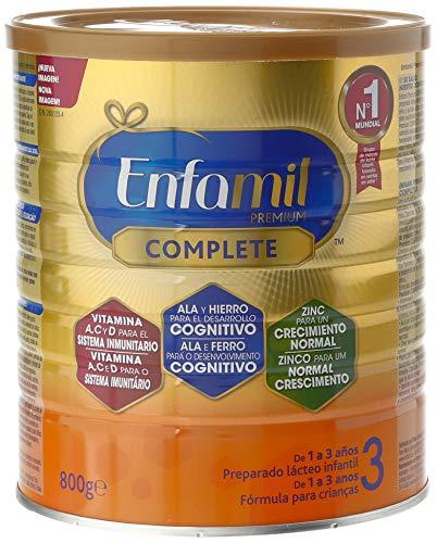 Enfamil Complete 3 - Leche infantil de continuación para lactantes niños de 1 a 3 años - 800 g