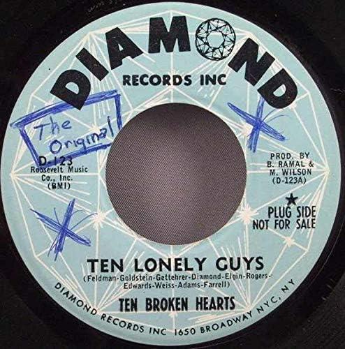 Broken Hearts Washington Mall - Ten Lonely Star Minneapolis Mall 45 Shining Vinyl Guys
