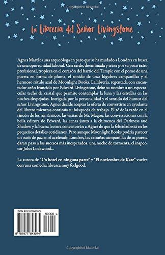 Reseña y Review del libro LA LIBRERÍA DEL SEÑOR LIVINGSTONE de Mónica Gutiérrez Artero