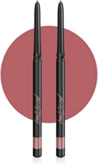 Beauty For Real D-Fine Lip Liner Pencil Set of 2, Neutral, Universal Color Works For All Skin Tones With Any Lip Color, No Sharpener Required, Cruelty Free, 2 x 0.12 oz