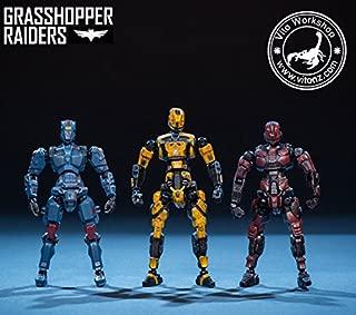 Source Mecha Movable Figure GR0333 Grasshopper Rainders Movable Model Toy 7.5cm
