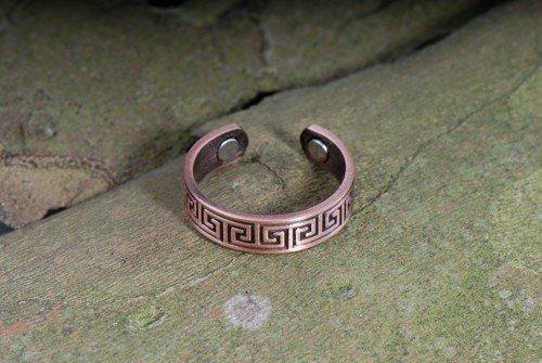 Magnetschmuck Celtic Kupfer Ring fr jugendliches Aussehen und zum Schutz vor negativen Energien