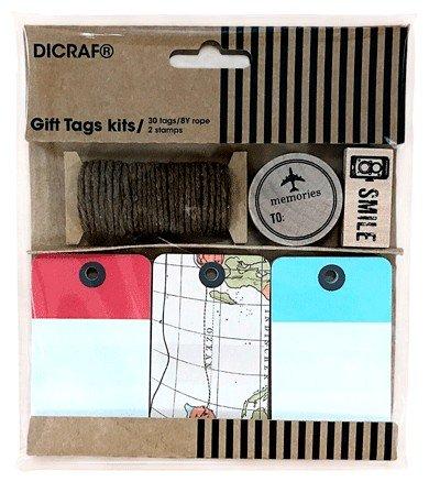 """DISOK - Kit Tarjetas + Sellos""""Trip"""" - Tarjetas para regalos Scrapbooking, Scrap, Handmade, Sellos, Manualidades para Bodas, Bautizos, Comuniones, Albumes, Decoración regalos"""
