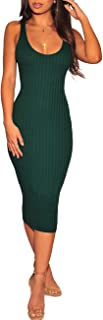 Women's Sexy Stretchable Elasticity Long Sleeve Maxi Sweater Off Shoulder Knit Slim Fit Dress