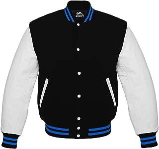 royal blue white varsity jacket