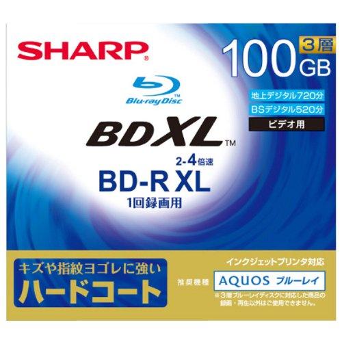 SHARP(シャープ)『4倍速対応BD-R  (VR-100DR1)』