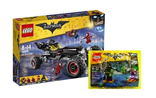 LEGO BATMAN SET 70905 - Das Batmobil + 30523 - The Joker BATALLA Entrenamiento en bolsa