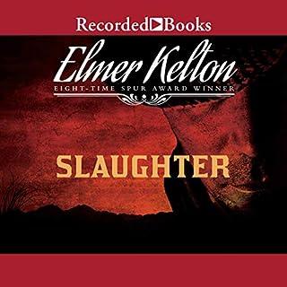 Slaughter audiobook cover art