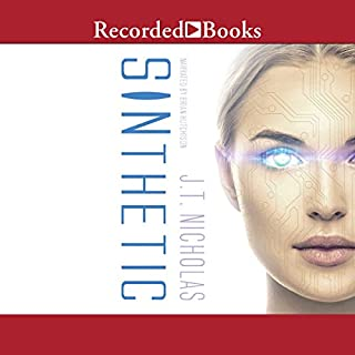 SINthetic audiobook cover art