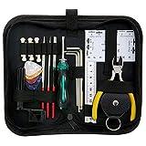 Guitar Repairing Tool Kit 26Pcs with Carry Bag for Guitar Ukulele Bass Mandolin Banjo