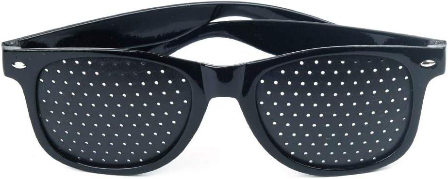 BOQIAN Gafas de protección visual, unisex, lentes negras, antifatiga, gafas de protección ocular.