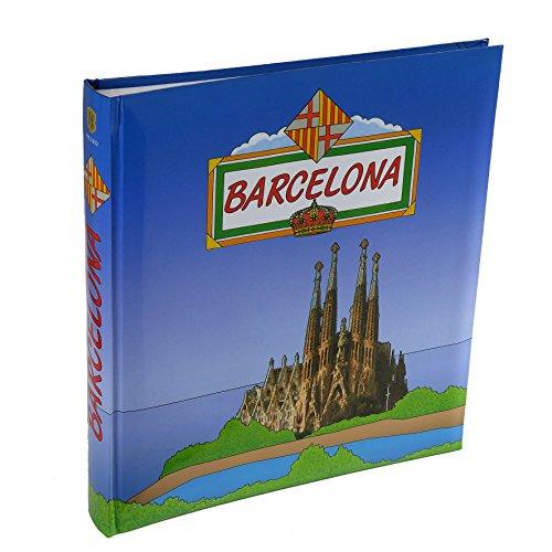 Henzo 1040707Album fotografico Barcelona: Blu