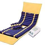 LLRDIAN PVC aufblasbare Anti-DekubitusMatratze | Hämorrhoiden Luftmatratze | Wechseldruckmatratze | medizinisches Luftkissen | Matratze mit Luftdruckmassage | Anti-Dekubitus-Luftmatratze | ältere Pati