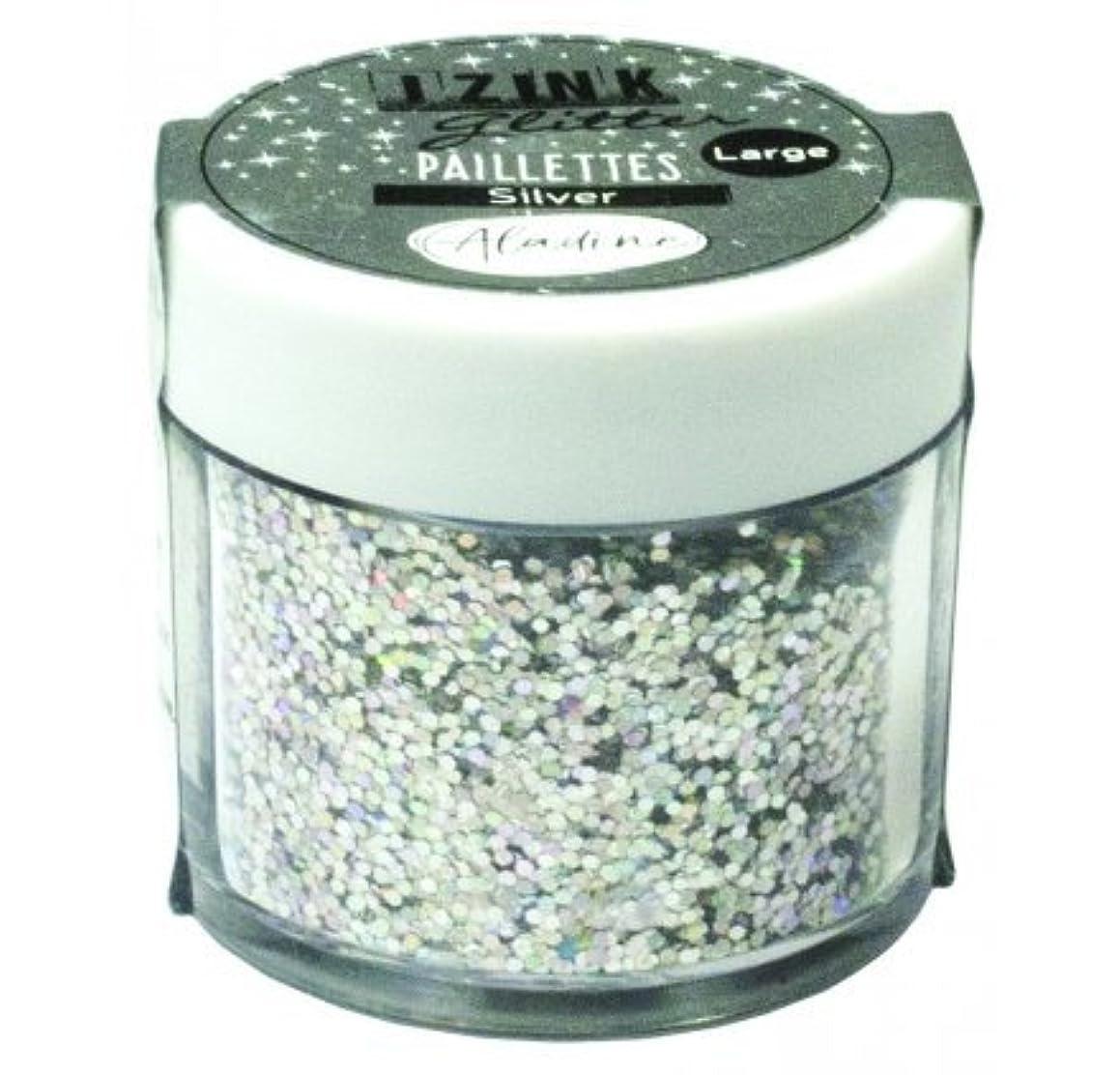 Aladine Izink 80848 Glitter 15 g Silver