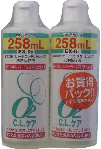 O2 C.L.ケア お買い得パック (コンタクトケア用品)