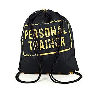 Hochwertiger, strapazierfähiger Rucksack / Sportbeutel mit sicherem Kordelverschluß, innen gefüttert. Praktische Außentasche mit Reißverschluß, z.B. für Schlüssel. Mit einer Größe von ca. 40 x 30 cm ist der Beutel ideal geeignet für Sport und Freizei...