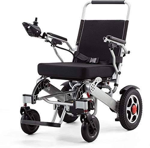 Rabbfay Multifunktion Falten Elektrisch Rollstuhl, Leicht Aluminium Mobilität Roller, 20AH, 250W Dual Motor, 360 ° Richtung Steuerung Hebel, Kreuzfahrt Angebot 20 km,A