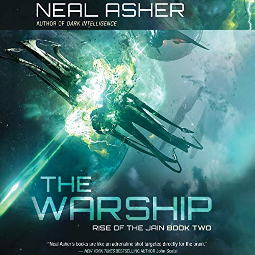 The Warship audiobook cover art
