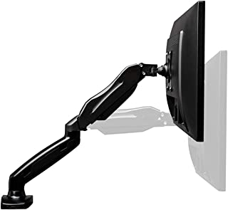 17''-27'' Computer Screen Monitor Mount Stand Full Motion Swivel Monitor Arm Gas Spring from 4.4lbs to 14.3lbs