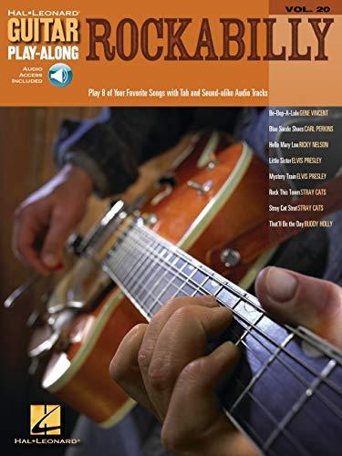 Guitar Play-Along Volume 20: Rockabilly: Noten, CD, Tabulatur (guitar play along series)